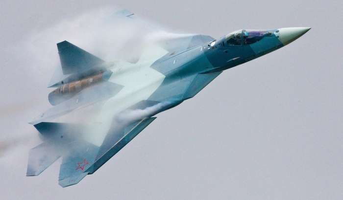 Красавец Су-57