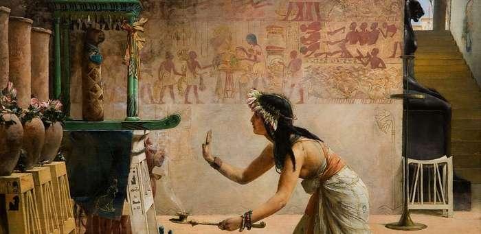 Домашние животные в Древнем Египте.