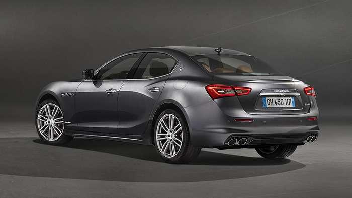 Maserati Ghibli улучшен в версии GranLusso