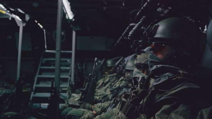 Суровые парни из Сил Специальных Операций МО России