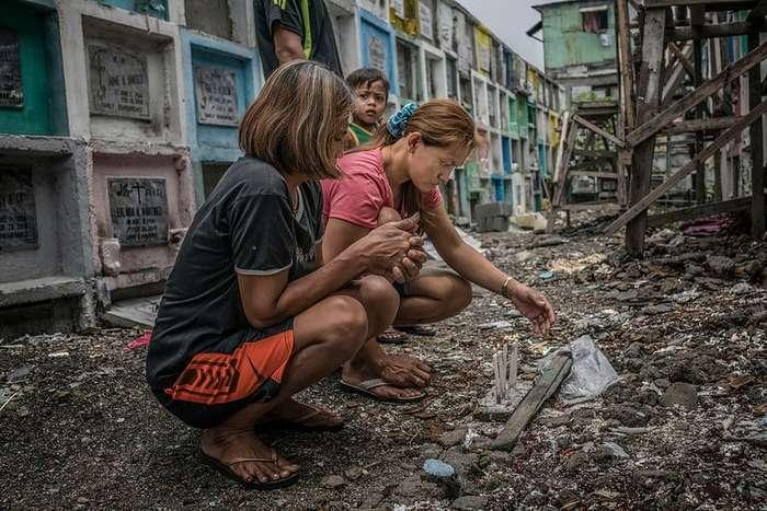 Жизнь в трущобах и война с наркотиками на Филиппинах