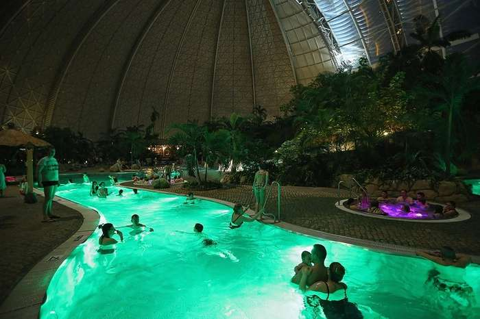 Самый большой и самый красивый аквапарк Европы