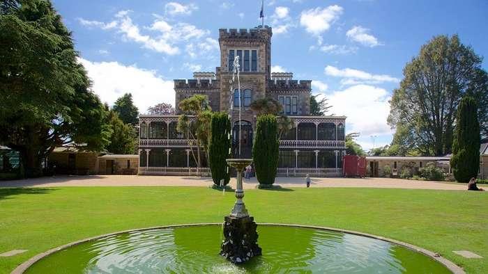 Единственный замок Новой Зеландии