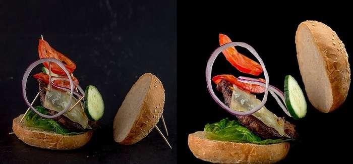 Удивительные факты о том, как фотографируют еду для рекламы