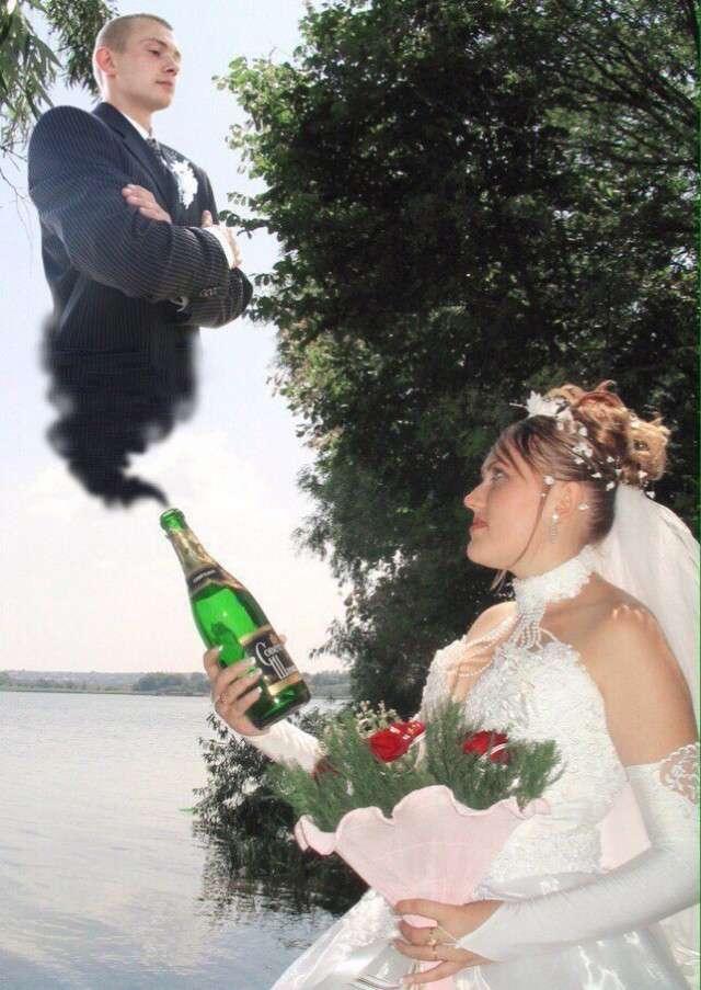 Работы богов свадебного коллажа