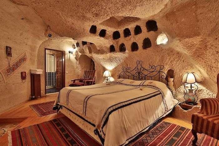 Пещерные отели Каппадокии