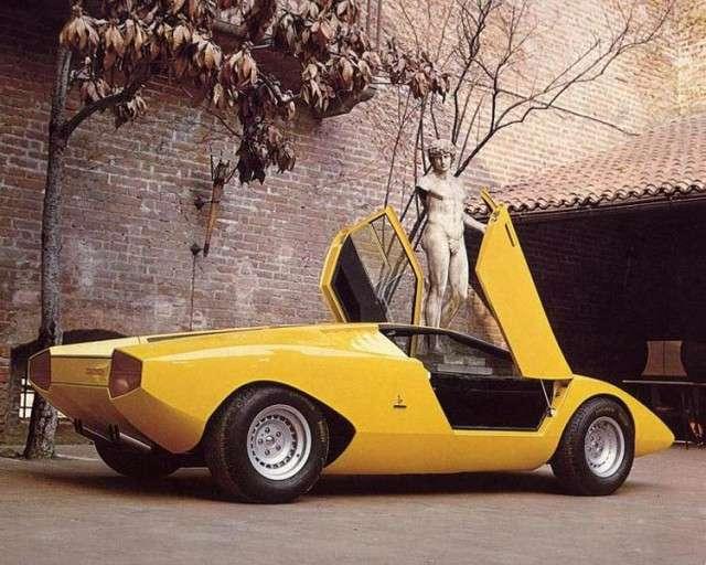 Lamborghini Countach, коротко о легенде.