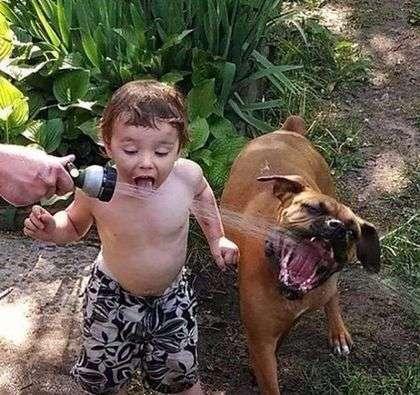Смешные картинки про детей.