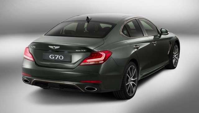 Genesis G70,встречайте.