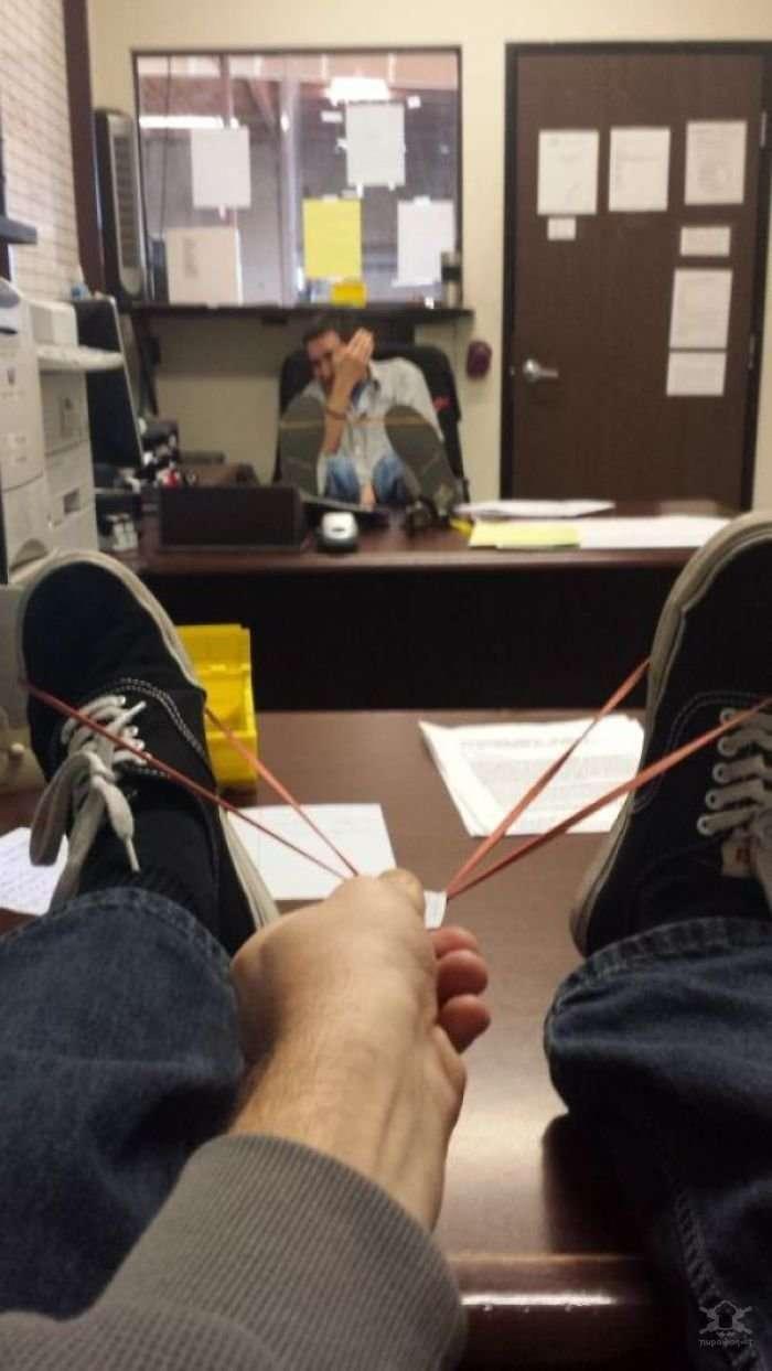 Когда на работе слишком много свободного времени
