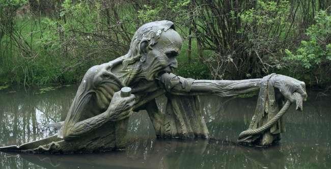 Скульптуры, которые пугают и завораживают одновременно