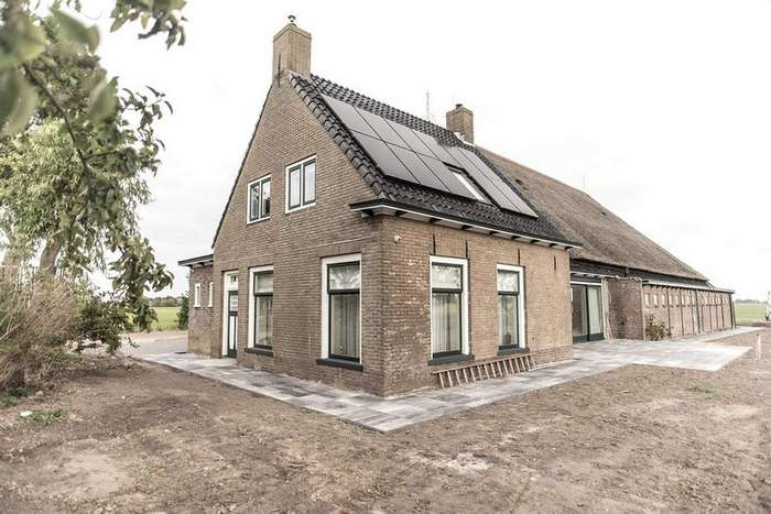 Реконструкция старого фермерского дома в Нидерландах