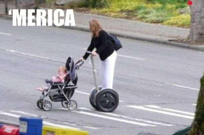 Странные фотографии из США.