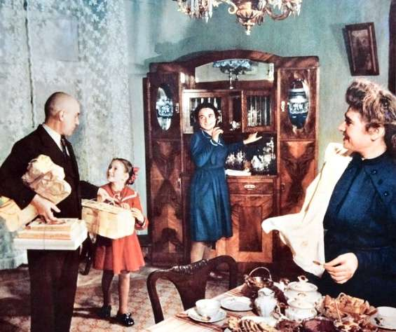 Кто жил в сталинские времена в отдельных квартирах