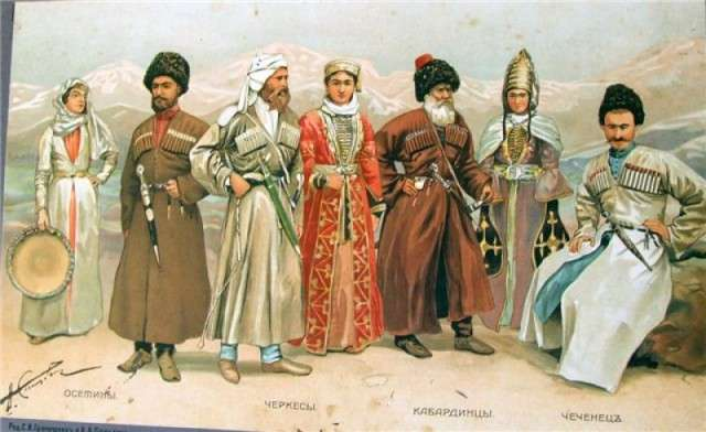 Борьба с рабством на кавказе.