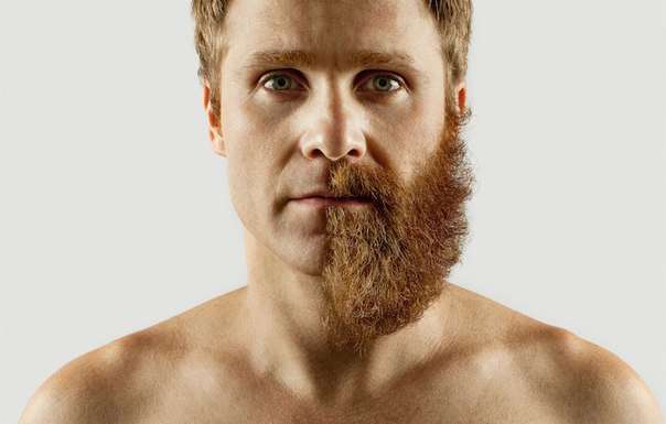 Этот мужчина сбрил себе половину бороды: то, что он сделал дальше, просто великолепно!