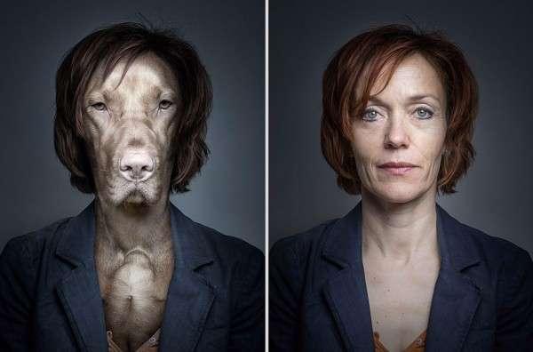 Собаки, одетые как их владельцы Себастьян Маньяни