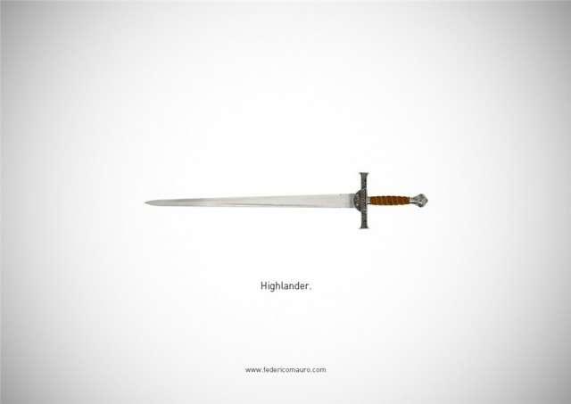 Знаменитые клинки, ножи и тесаки культовых персонажей