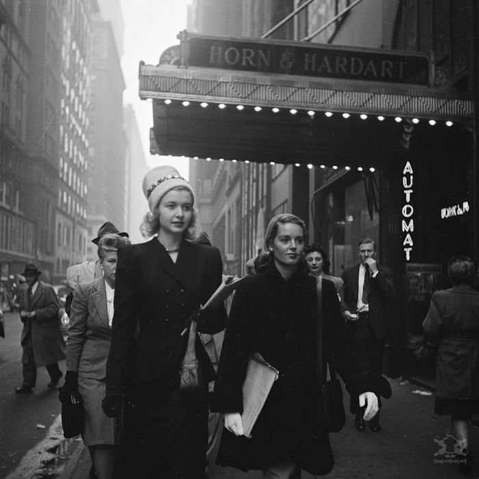 Фотографии Нью-Йорка, сделанные молодым Стэнли Кубриком