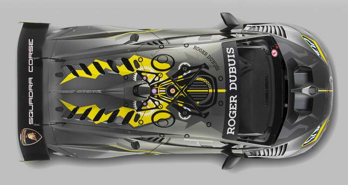 Купе Lamborghini Huracan Super Trofeo EVO