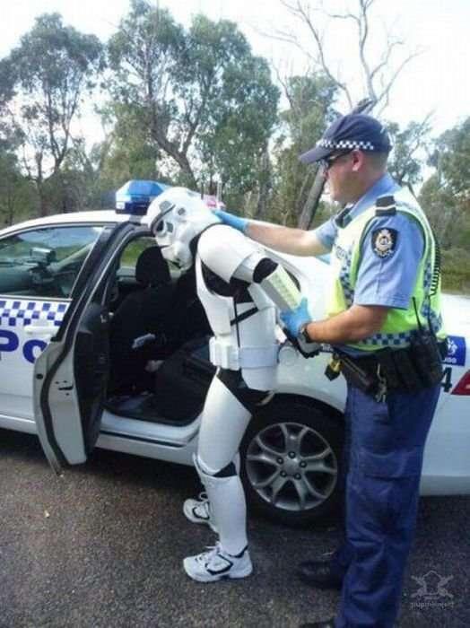 Приколы с полицейскими
