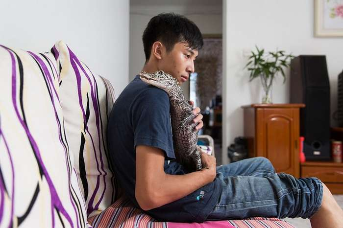 Владельцы экзотических животных из Пекина