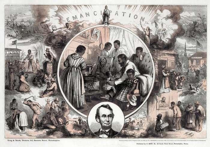 Исторические факты о рабстве в Америке