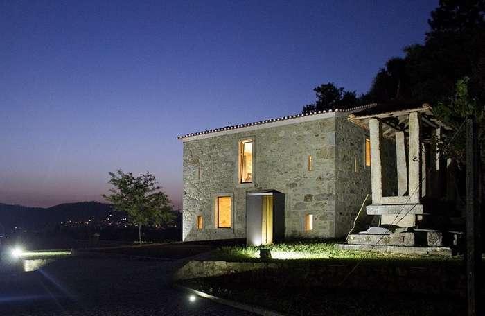 Реконструкции исторического здания в Португалии