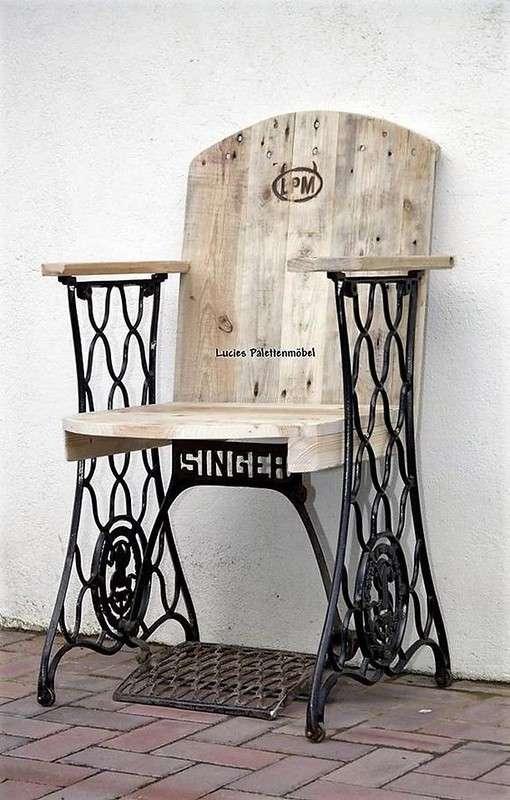 Новая жизнь старой швейной машинки
