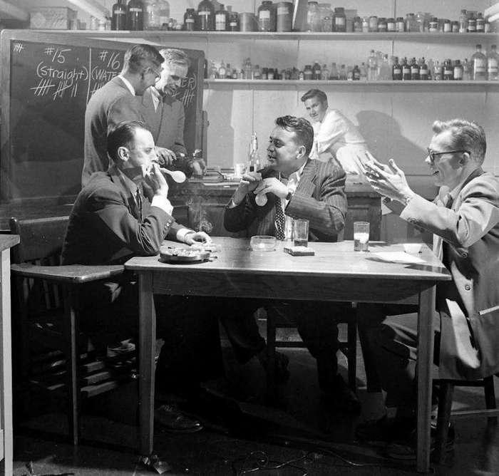 Научный эксперимент по воздействию алкоголя на человека