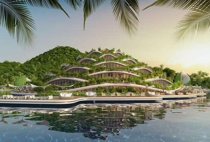 Амбициозный проект эко-отеля на Филиппинах