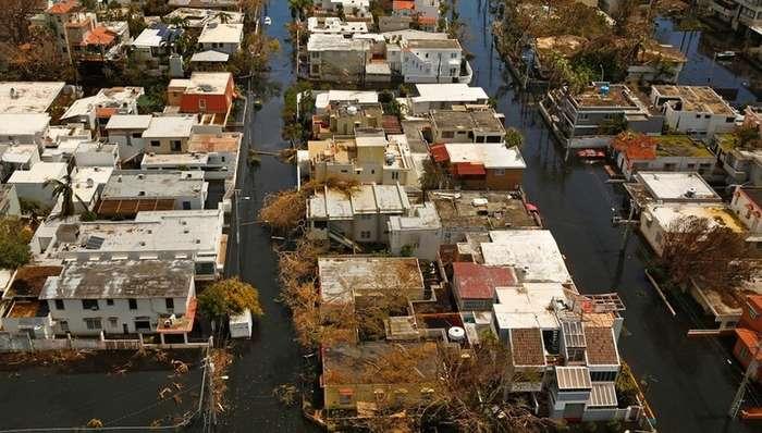 Пуэрто-Рико после урагана Мария