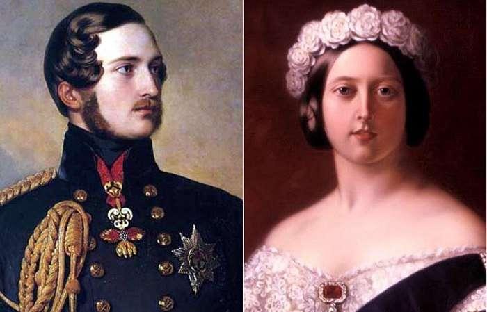 Королева Виктория и принц Альберт: искренняя любовь вопреки чопорным традициям британского двора.