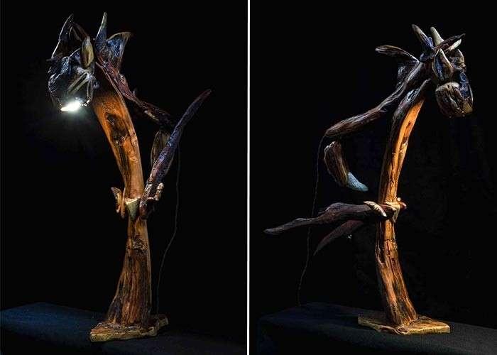Необычные деревянные лампы PanLights