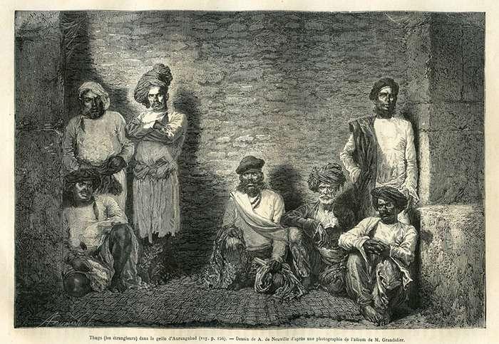 Сыны Смерти, слуги Кали: тайная секта тугов-душителей