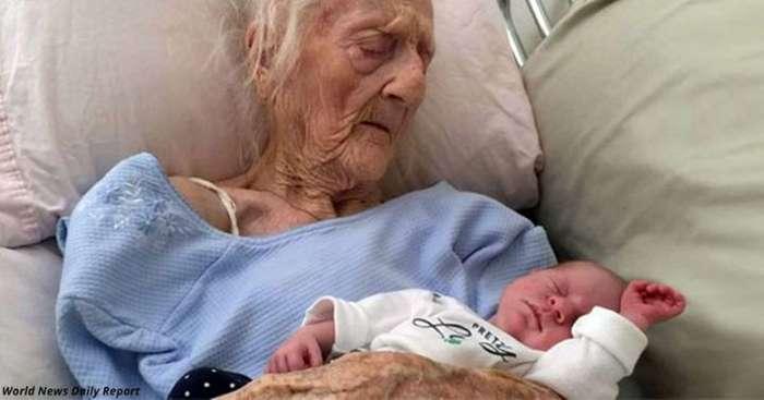 Эта женщина стала самой старой матерью в мире. Ей 101 и она родила 17-го ребенка…