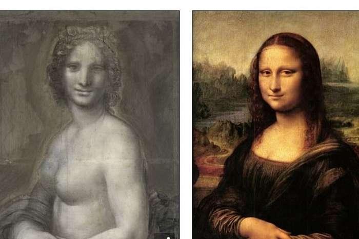 Да Винчи нарисовал голую Мону Лизу