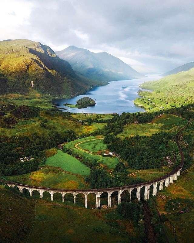 Красивые пейзажи Майкла Блока