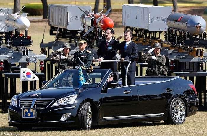 Южная Корея продемонстрировала внушительную военную мощь