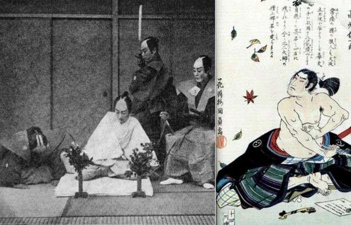 Харакири-дело чести самурая