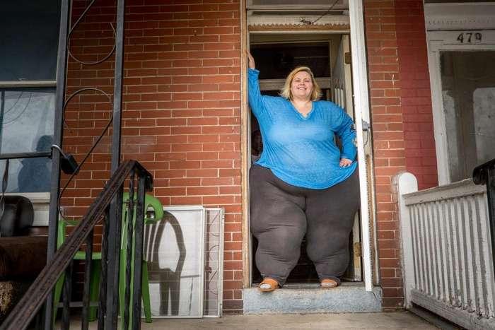 Безумная американка готова умереть ради рекордных бедер (Фото)
