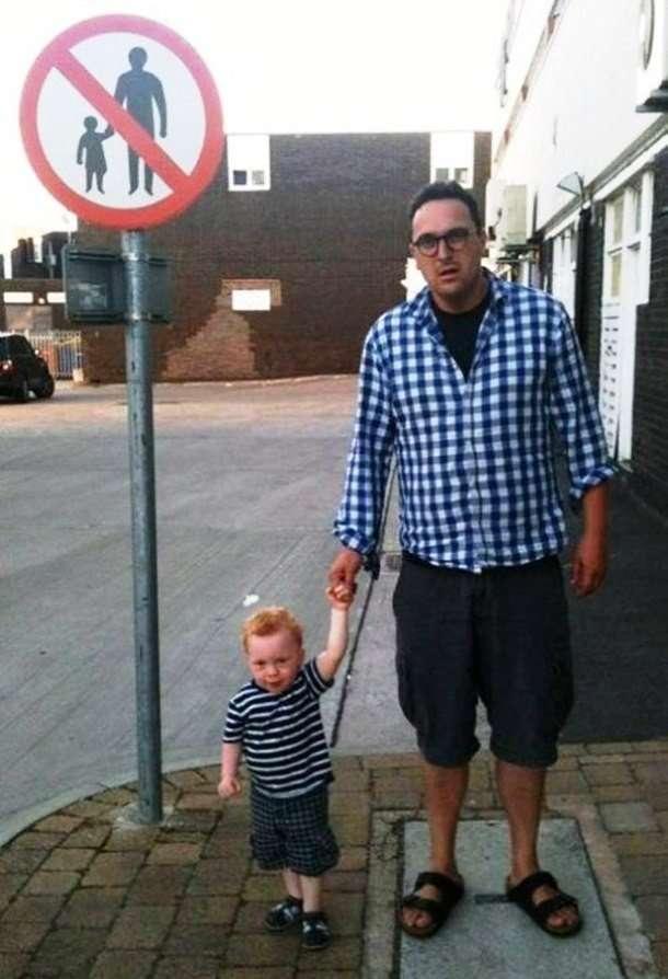 Позитив на весь день: забавные люди, которые обожают нарушать правила