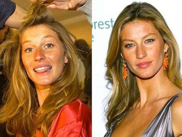 Великий обман: как выглядят супермодели без макияжа