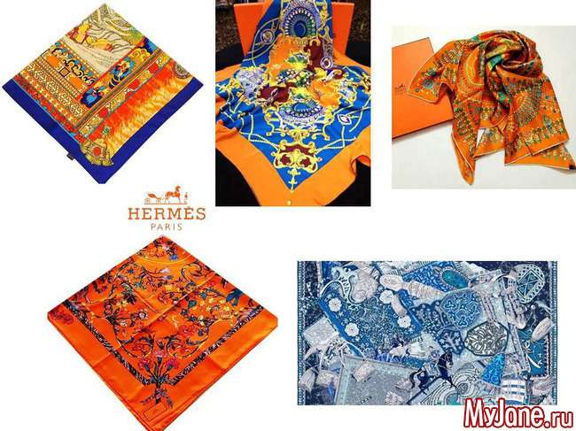 Как красиво носить шарфы и платки
