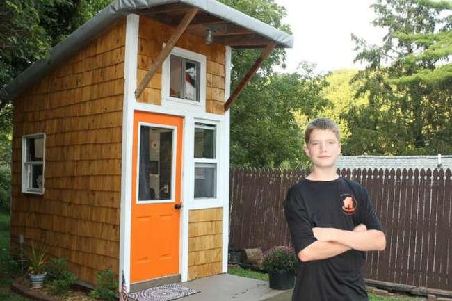13-летний подросток построил дом, который стоит увидеть