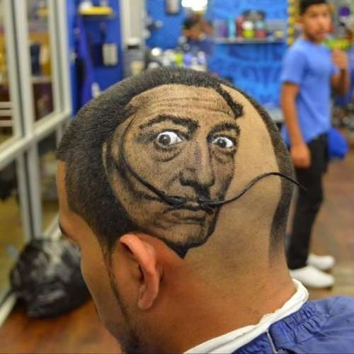 Причудливые и смешные причёски (19 фото)