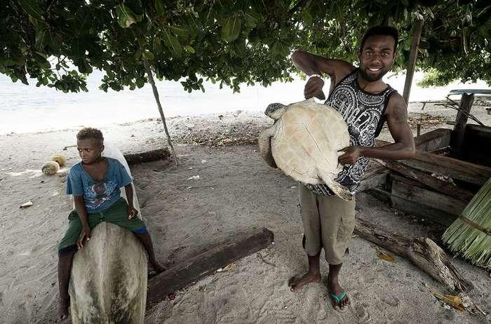 Исчезающие острова: Соломоны