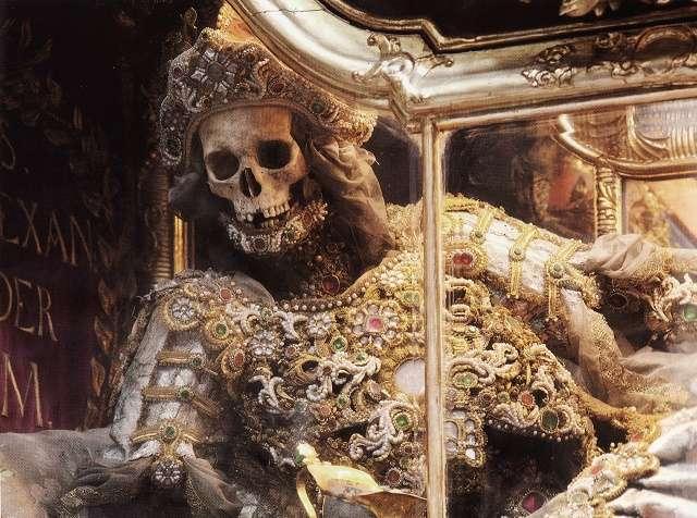 Конвейер бриллиантовых скелетов