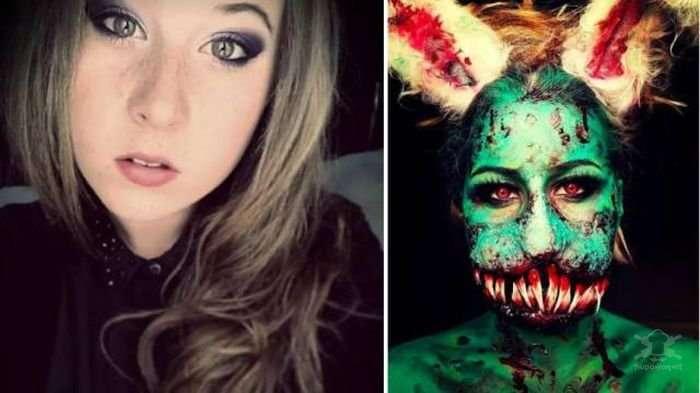 Идеи грима для Хэллоуин
