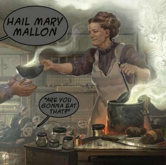 Убийца-кухарка Тифозная Мери